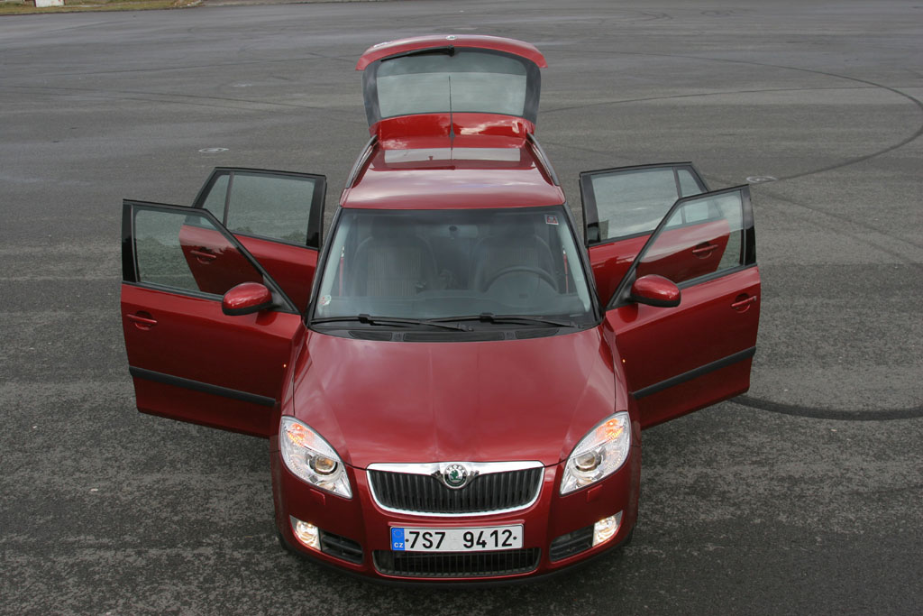Automobily Škoda Fabia Combi 1.4 TDI Sport