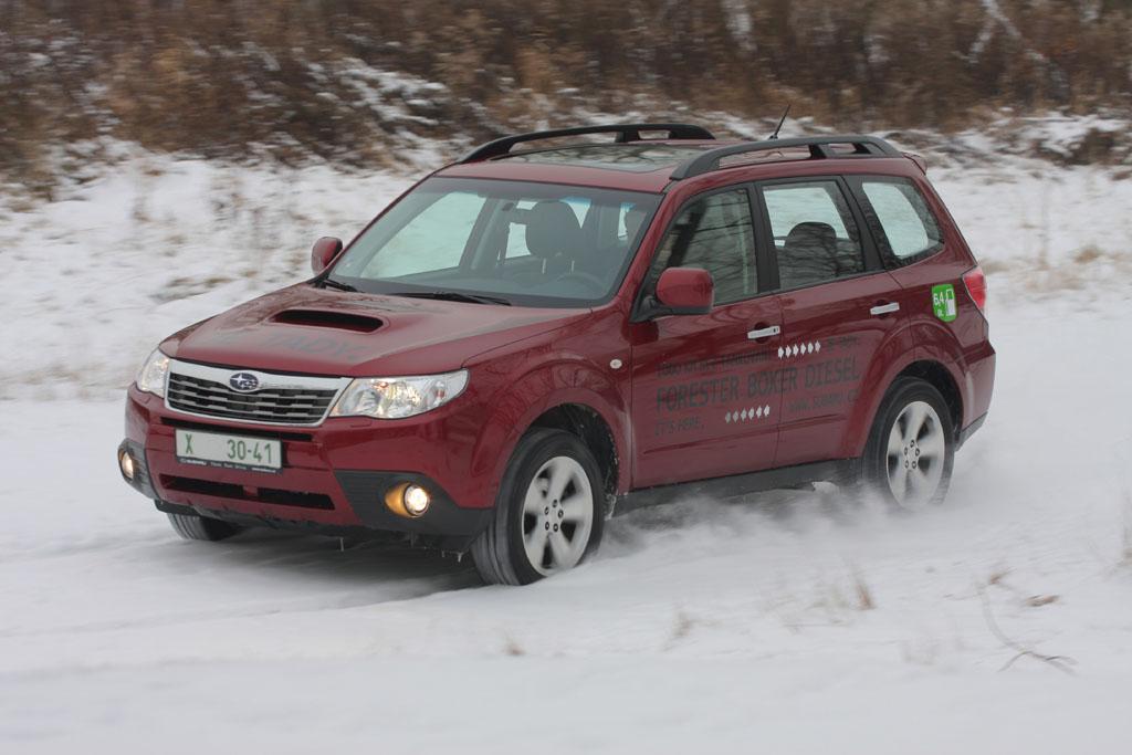 Automobily Subaru Forester 2.0D Executive