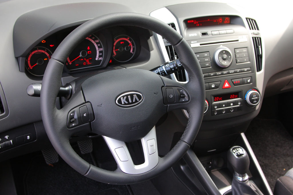 Automobily Kia Cee´d SW 1.6 CRDi Comfort Plus