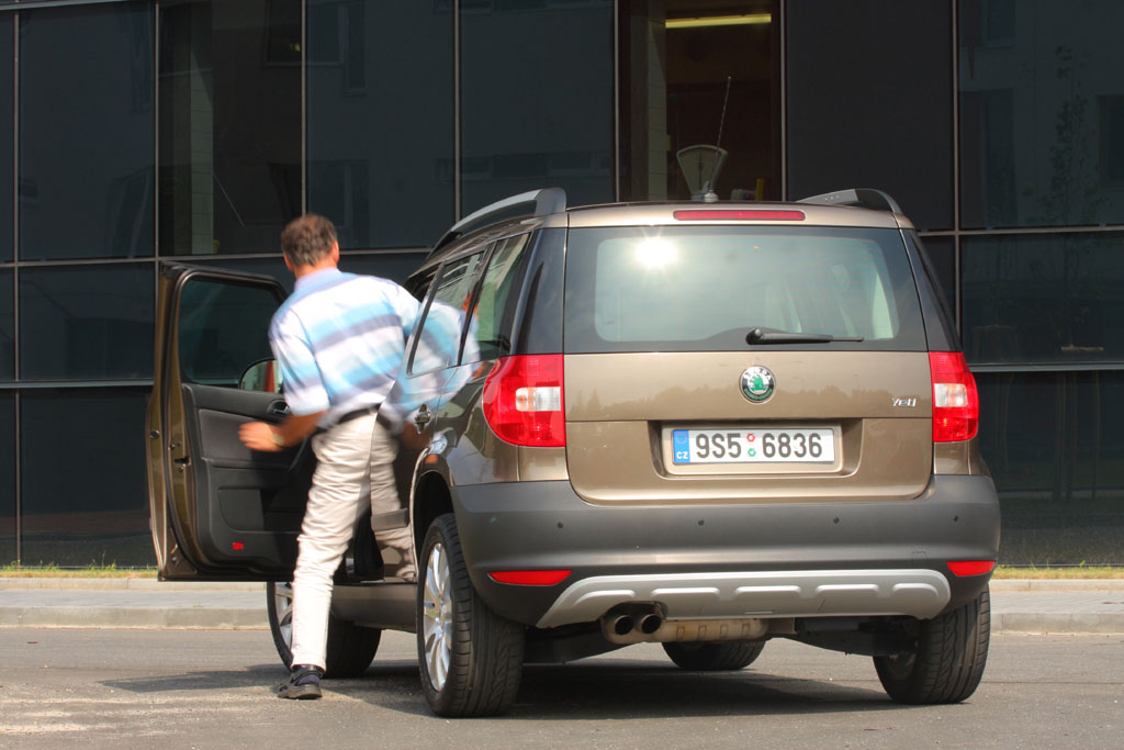 Automobily Škoda Yeti 1.2 TSI Ambition
