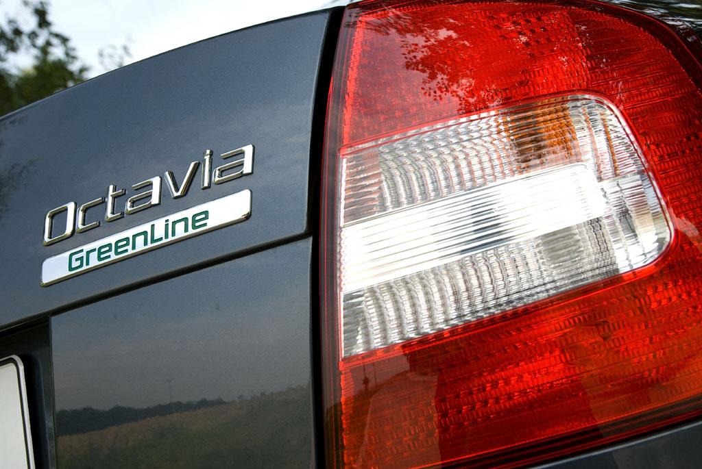 Automobily Škoda Octavia Greenline