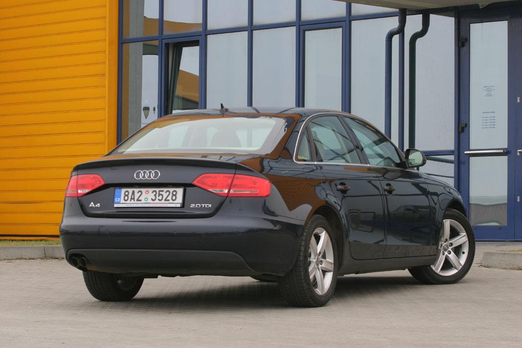 Automobily Audi A4 2.0 TDI