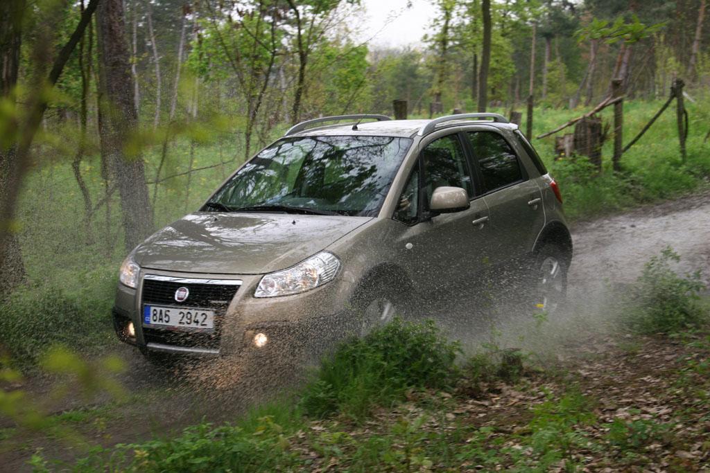 Automobily Fiat Sedici 1.9 Multijet 4x4 Emotion