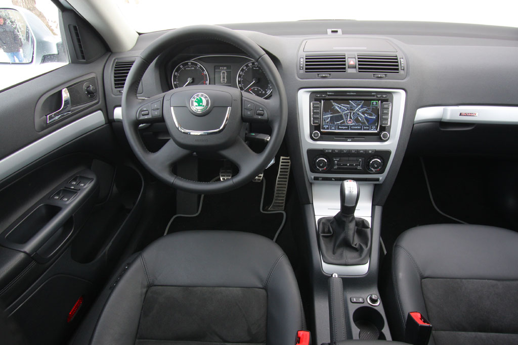 Automobily Škoda Octavia Scout 1.8 TSI