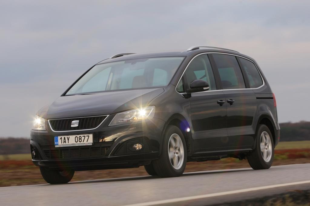 Automobily Seat Alhambra 2.0 TDI Style