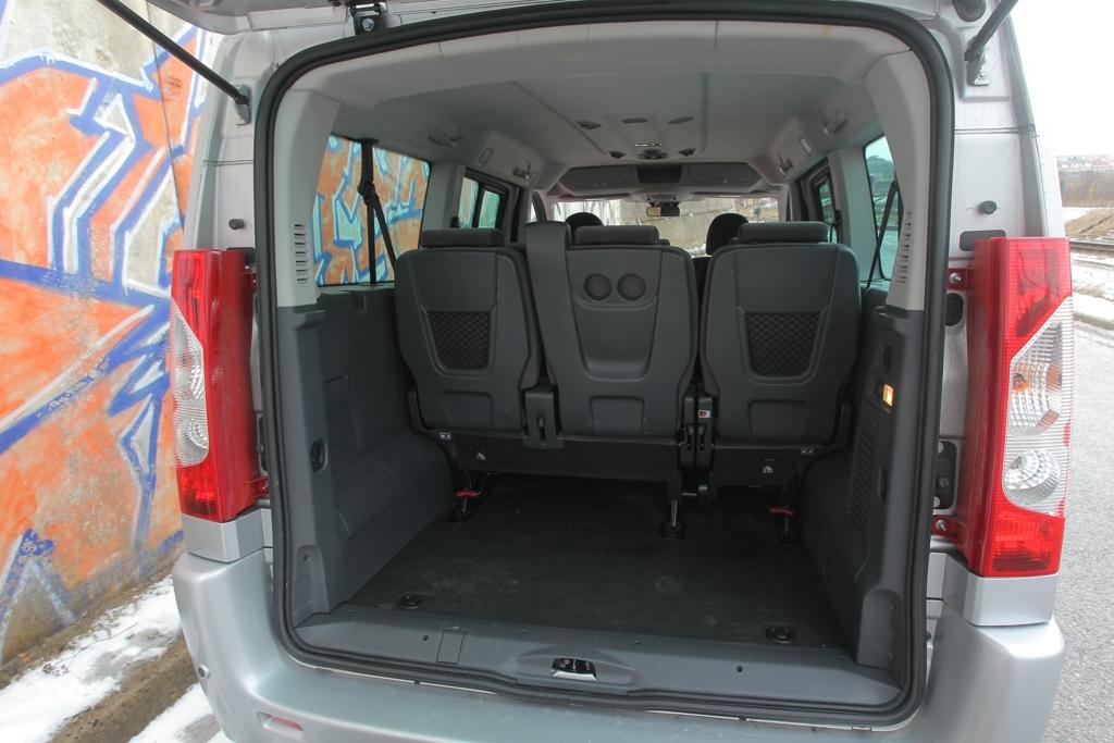 Automobily Fiat Scudo Panorama 4x4 Dangel