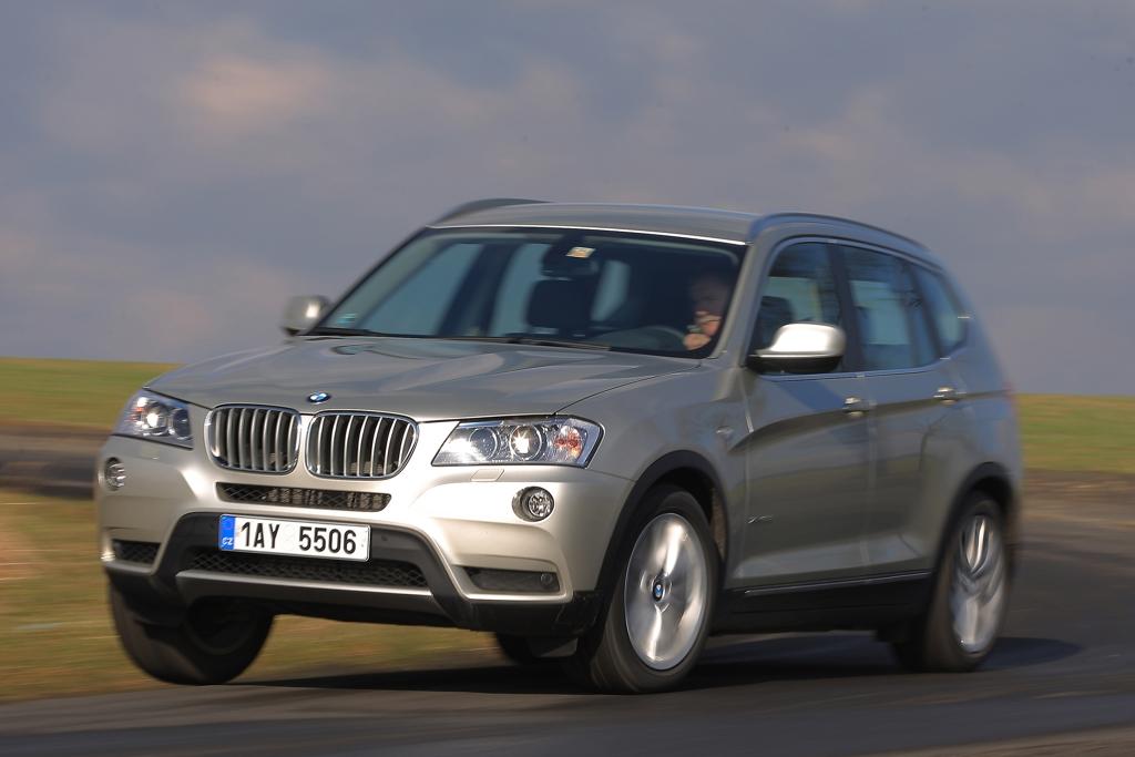 Automobily BMW X3 xDrive35i