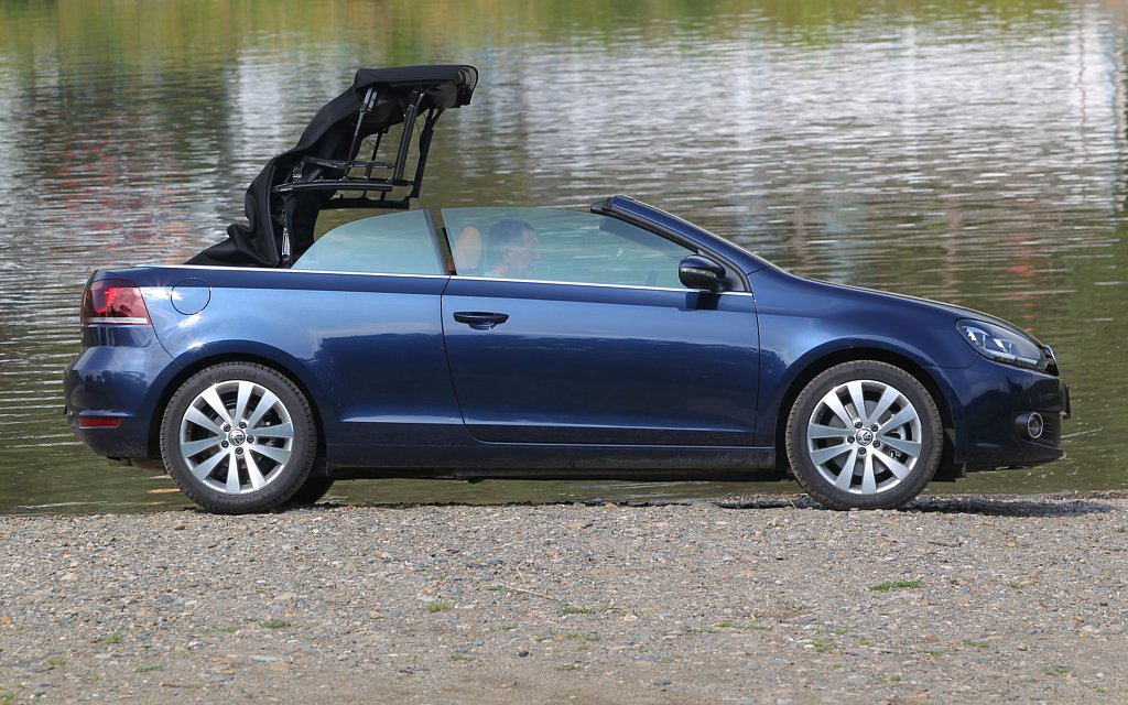 Automobily Volkswagen Golf Cabrio 1.4 TSI DSG