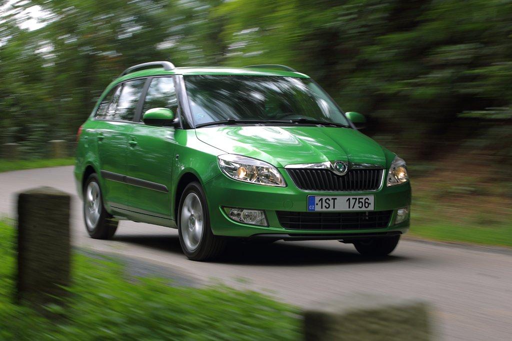Automobily Škoda Fabia Combi 1.2 TSI Green tec Ambiente