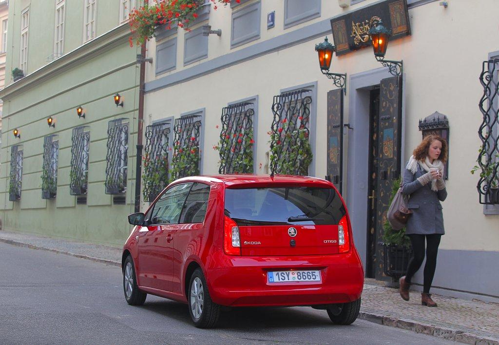 Automobily Škoda Citigo 1.0 MPI Ambition