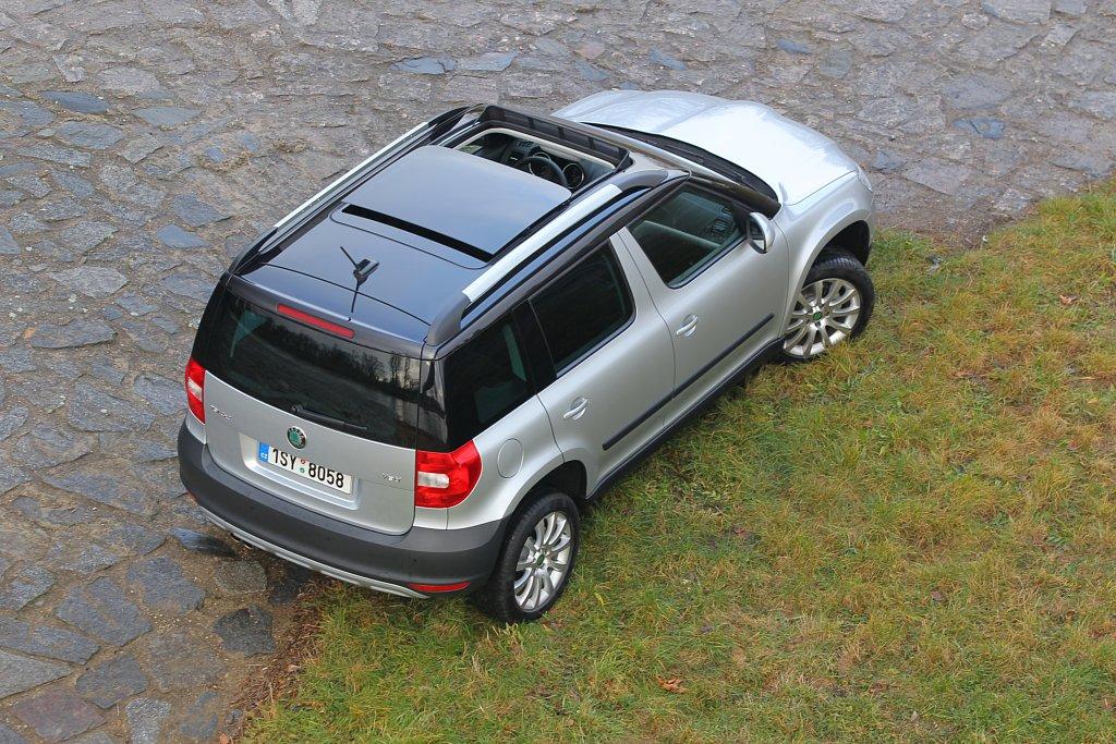Automobily Škoda Yeti 1.8 TSI 4x4 Elegance