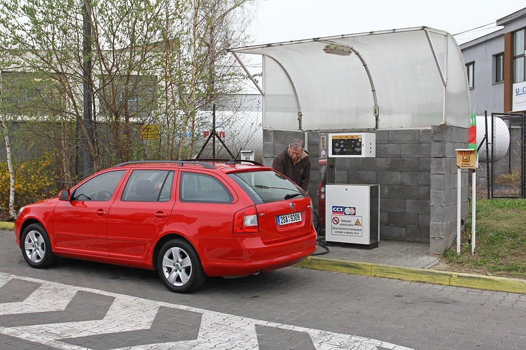 Automobily Škoda Octavia Combi 1.6 MPI LPG Ambition