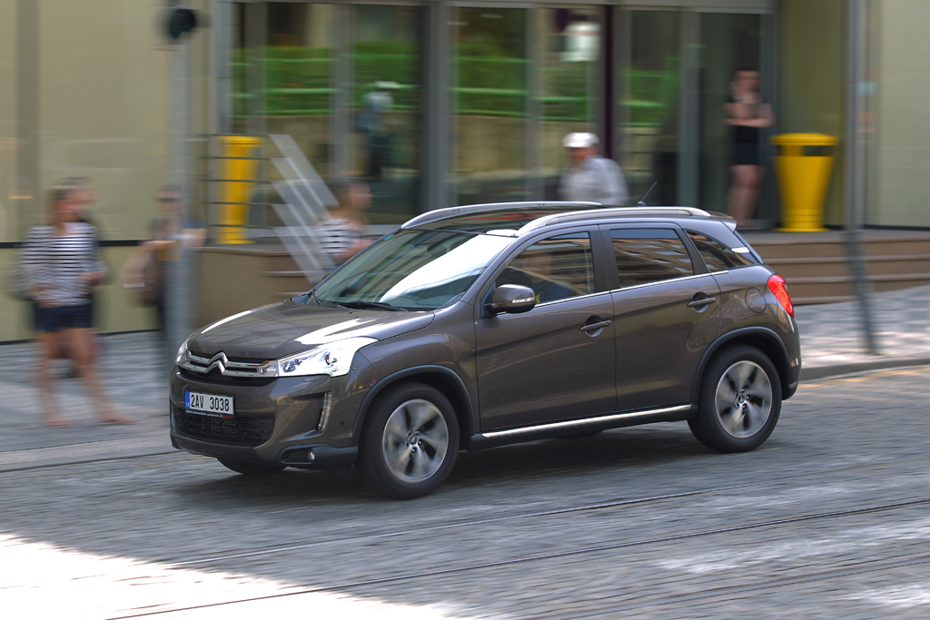Automobily Citroën C4 Aircross 1.8 HDi Exclusive 4WD