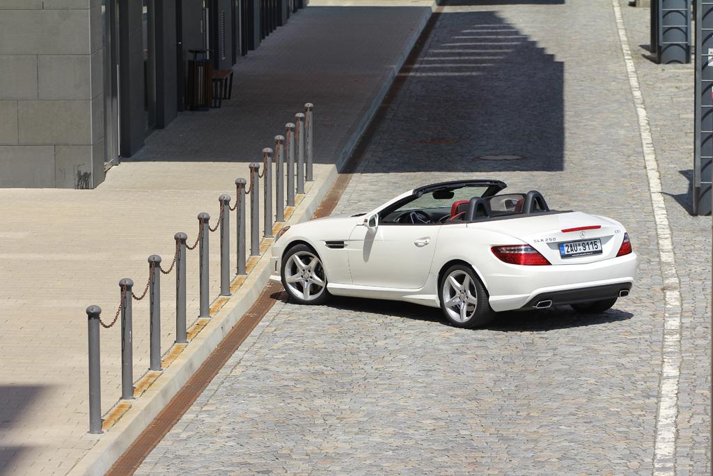 Automobily Mercedes-Benz SLK 250 CDI