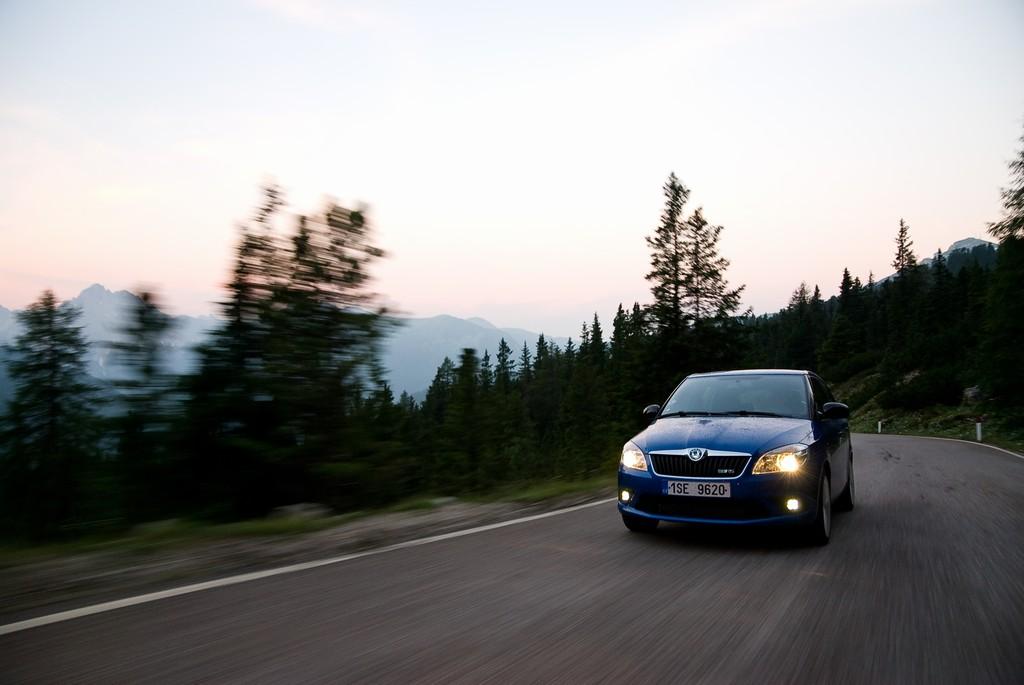 Události Testopis: Škoda Fabia RS v Dolomitech