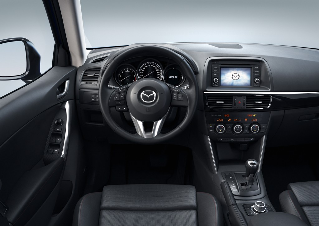Automobily Mazda CX-5 2012