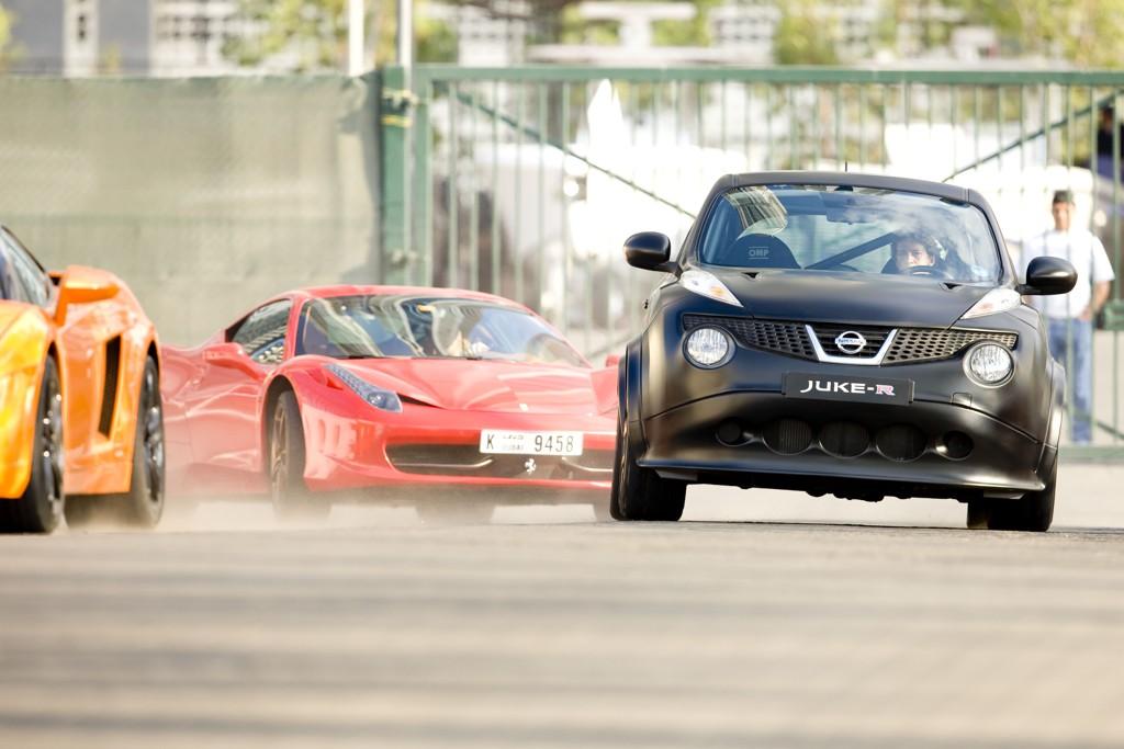 Automobily Nissan Juke R - Desert Nemesis 2012