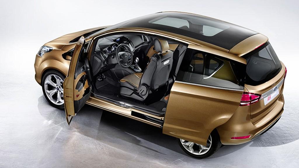 Automobily Ford B-Max 2012