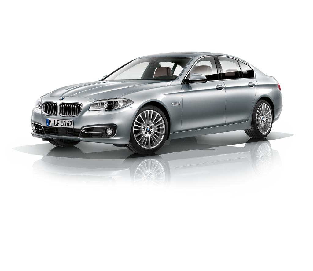 Automobily BMW řady 5 - modernizace 2013