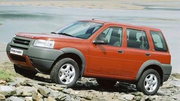 2000 land rover freelander 1.8