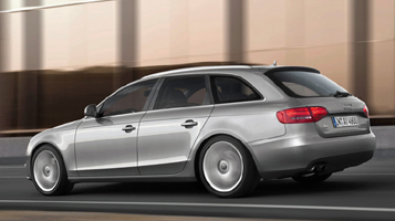 Audi a4 rozměry