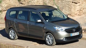 Dacia lodgy rozměry