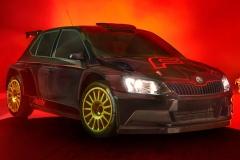 Škoda Fabia R5 se změnila v upíra z Feratu a vyhrála Rally Bohemia