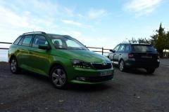 Živě: Škoda Fabia Combi při prvních živých jízdách