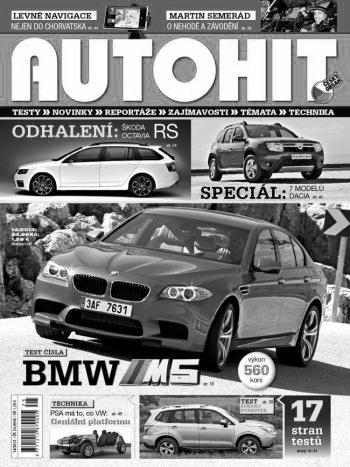 Obálka časopisu Autohit