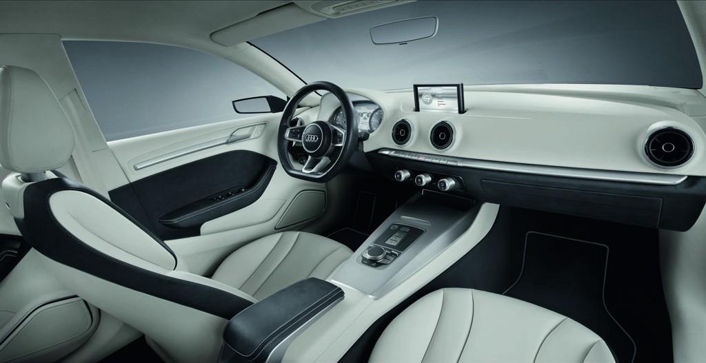 Automobily Audi A3 concept