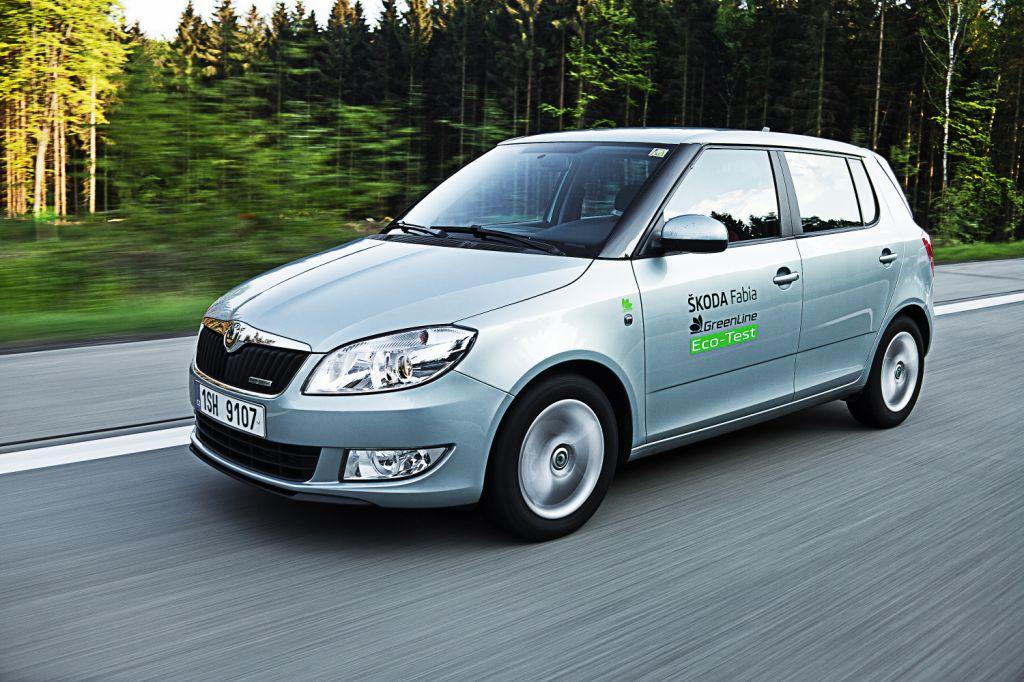 Automobily Škoda Fabia GreenLine úsporná jízda 2011