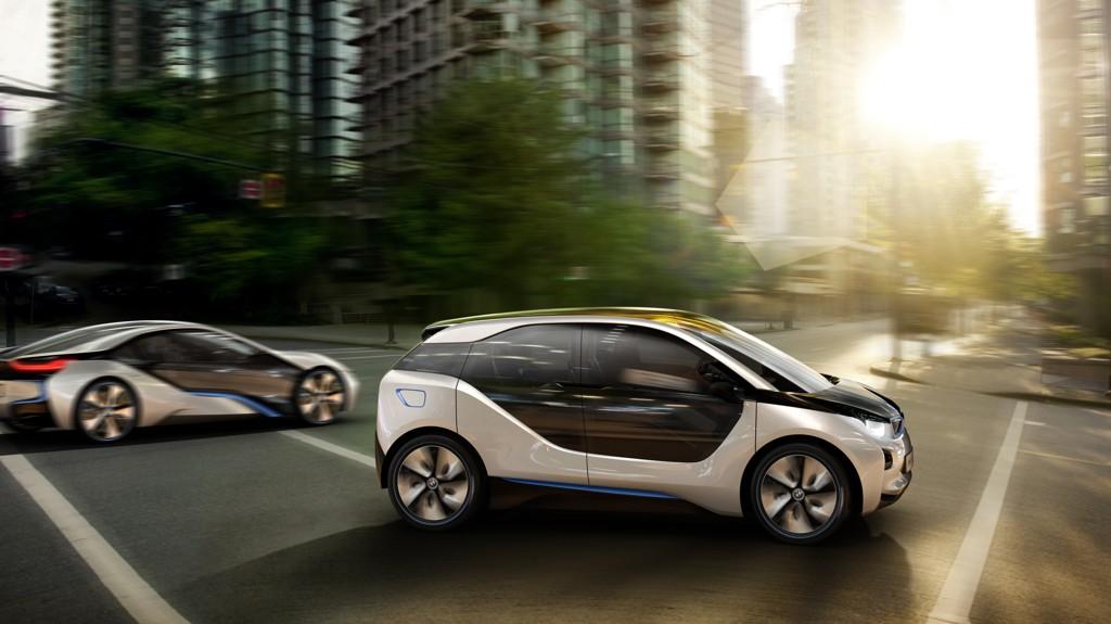 Automobily BMW i3 Concept a i8 Concept 2011
