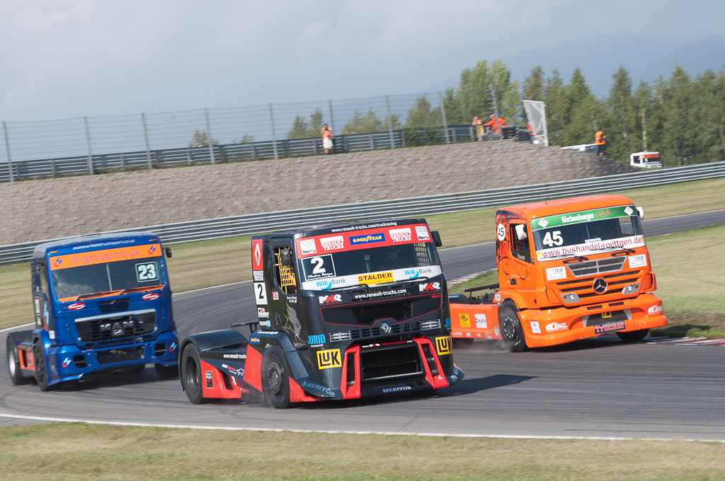 Závody Czech Truck Prix 2011 Most