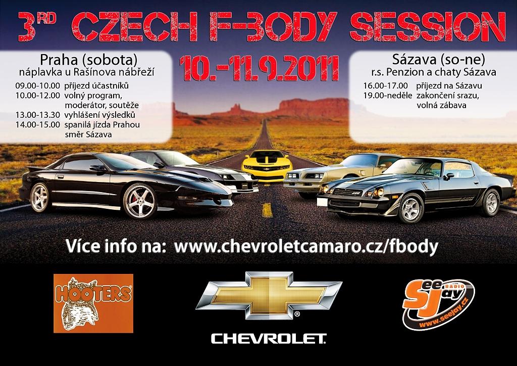 Události 3rd Czech F-Body Session