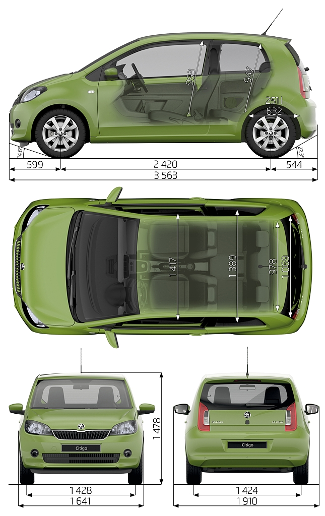 Automobily Škoda Citigo