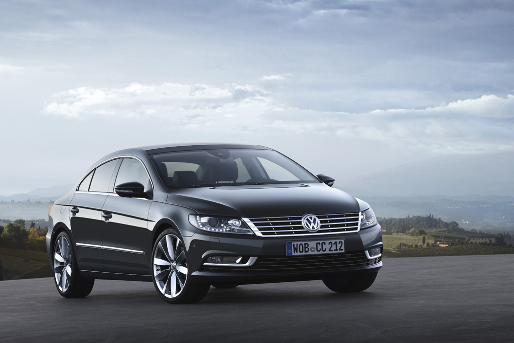 Automobily Volkswagen CC představení