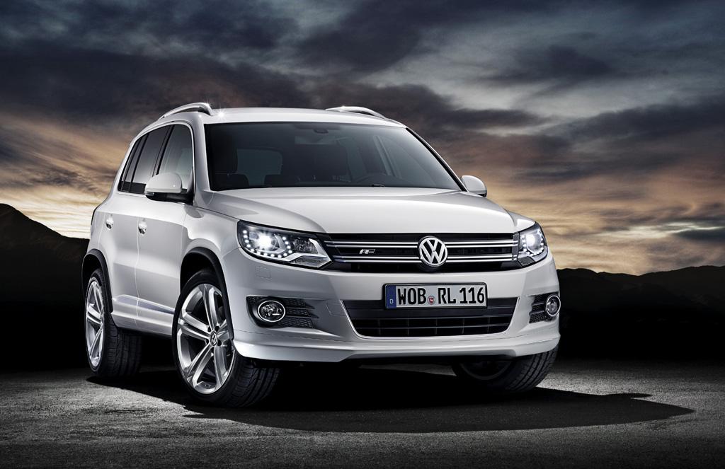 Automobily Volkswagen Tiguan R-Line