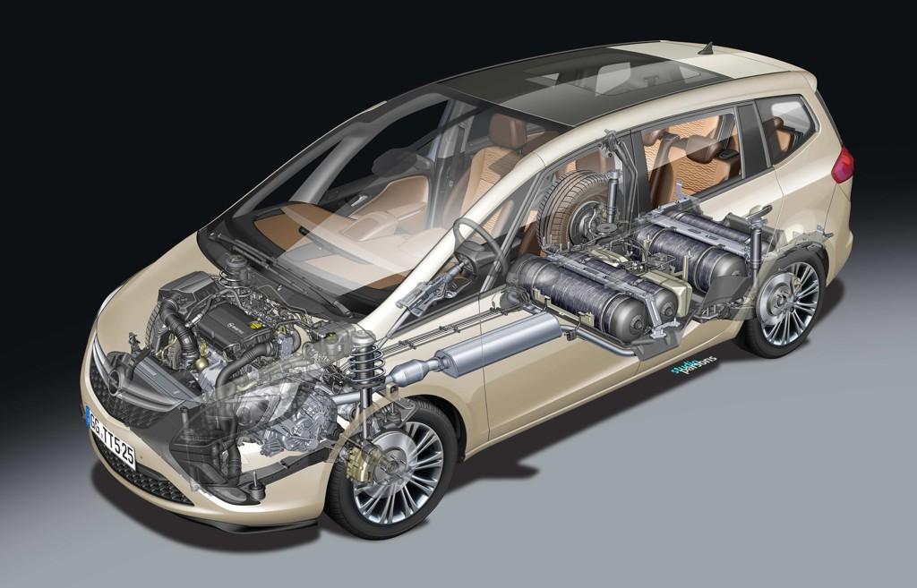 Automobily Opel Zafira Tourer CNG 2011