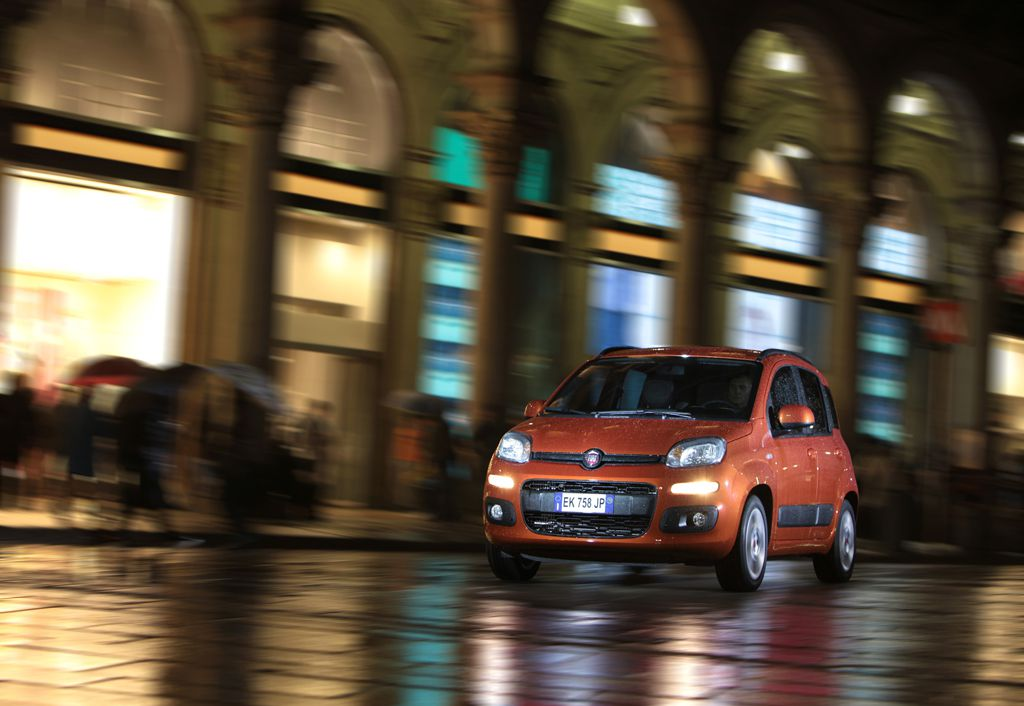 Automobily Fiat Panda 2011