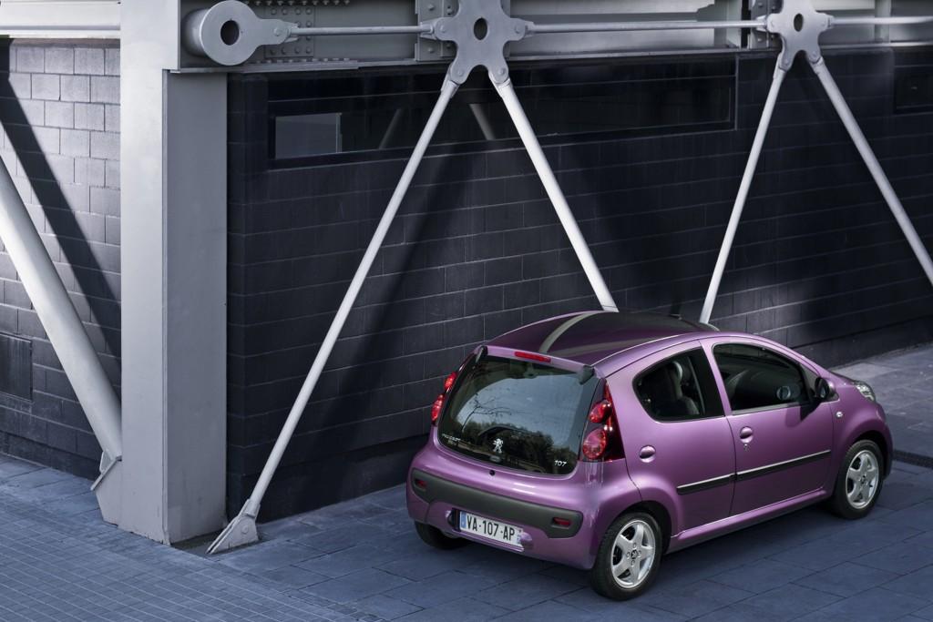 Automobily Peugeot 107 facelift 2012