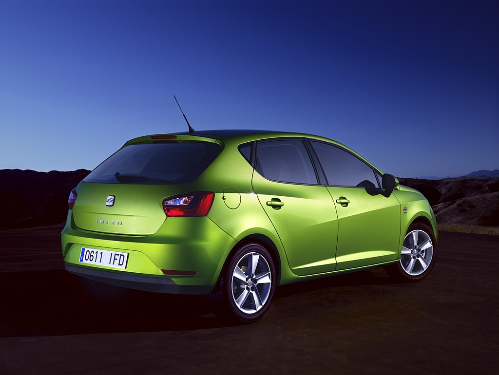 Automobily Seat Ibiza facelift 2012