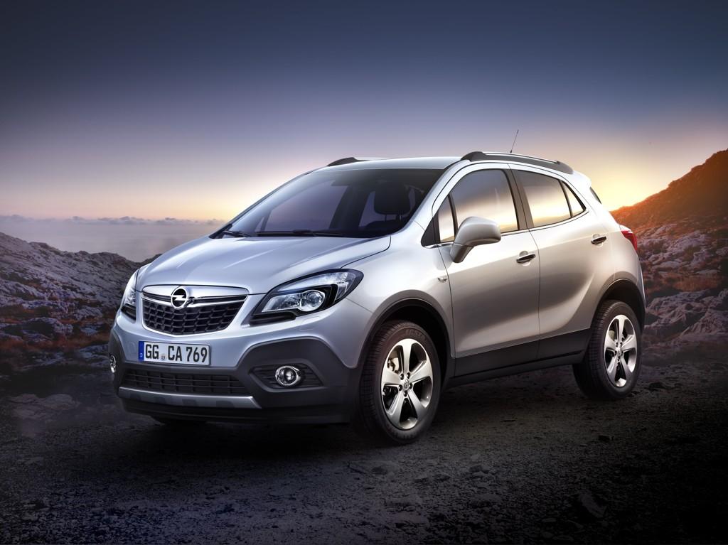 Automobily Opel Mokka 2012