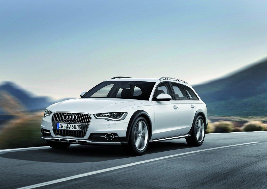 Automobily Audi A6 Allroad 2012