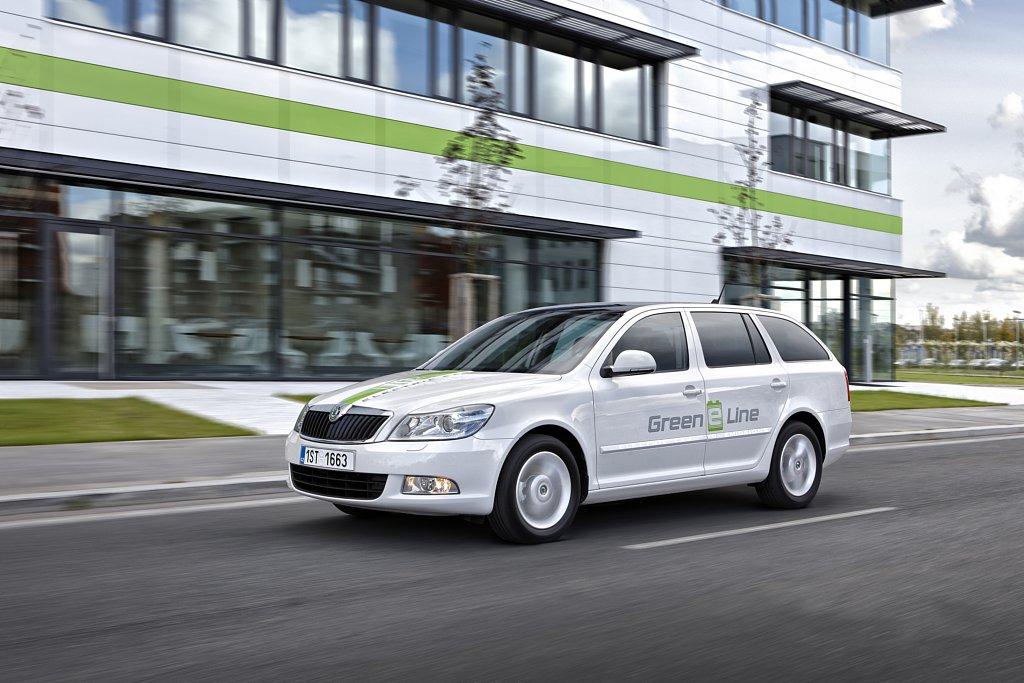 Automobily Škoda Octavia Green E Line