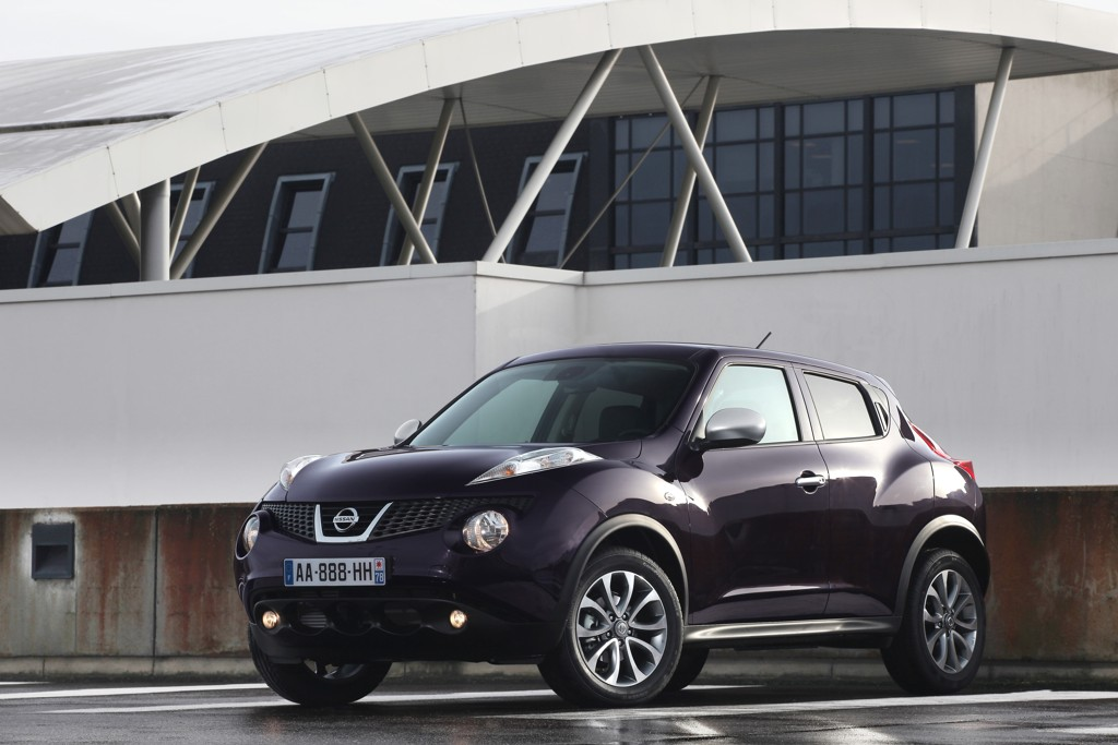 Automobily Nissan Juke Shiro 2012