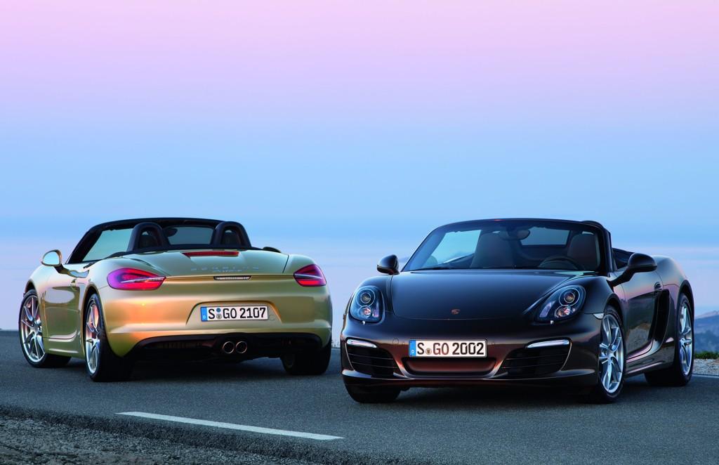 Automobily Porsche Boxster 2012