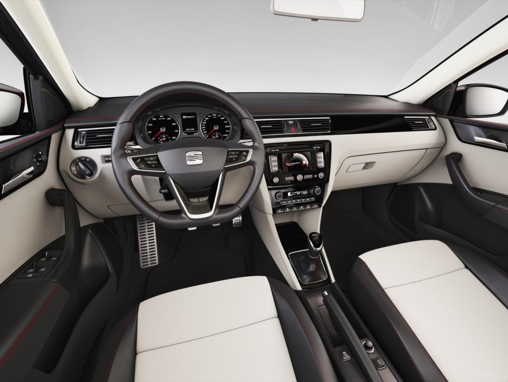 Automobily Seat Toledo 2012