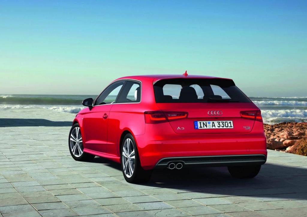 Automobily Audi A3 2012
