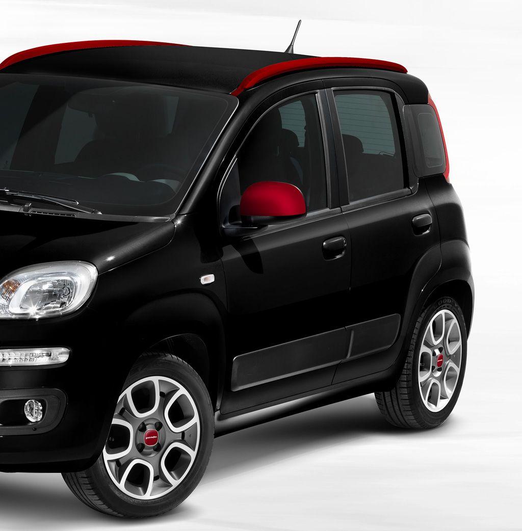 Automobily Fiat Panda doplňky 2012