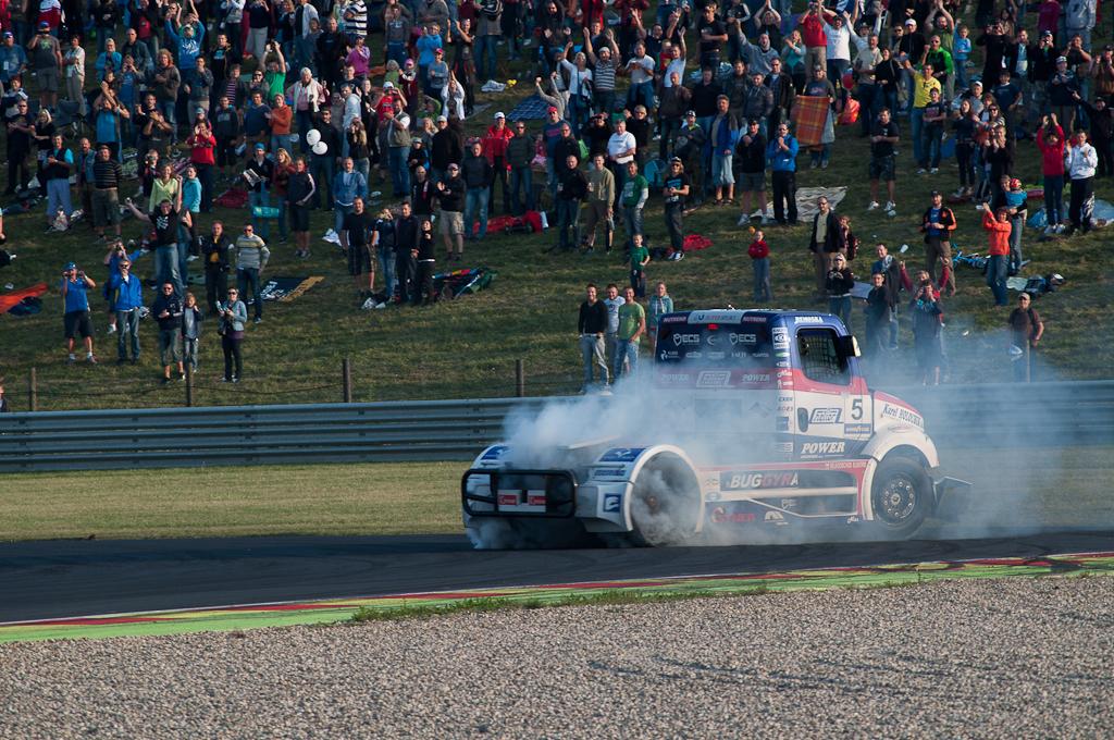 Závody Czech Truck Prix 2012